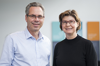 Professor Geoff Lindeman and Professor Jane Visvader