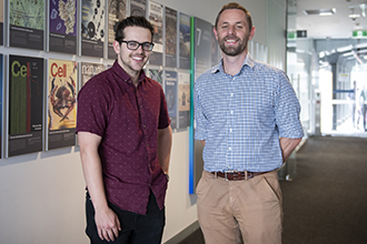 Associate Professor Grant Dewson and Mr Jonathan Bernardini
