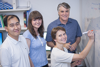 Immunology research team