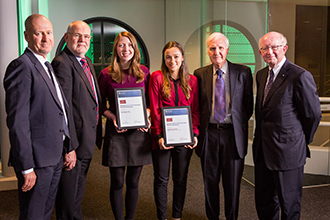 Recipients of Strathmore Bank Honors Prize