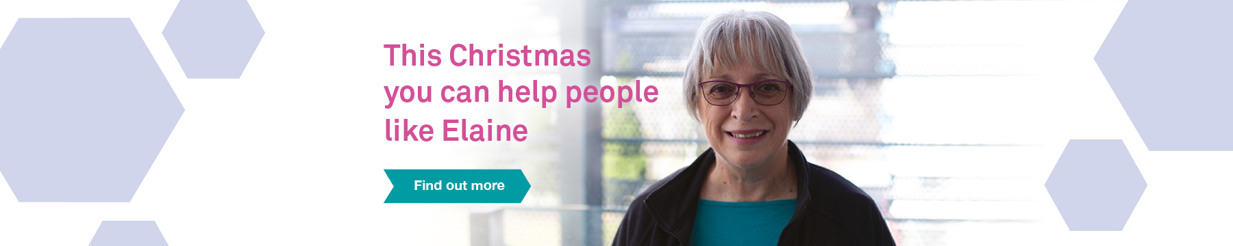 Christmas appeal promotional banner