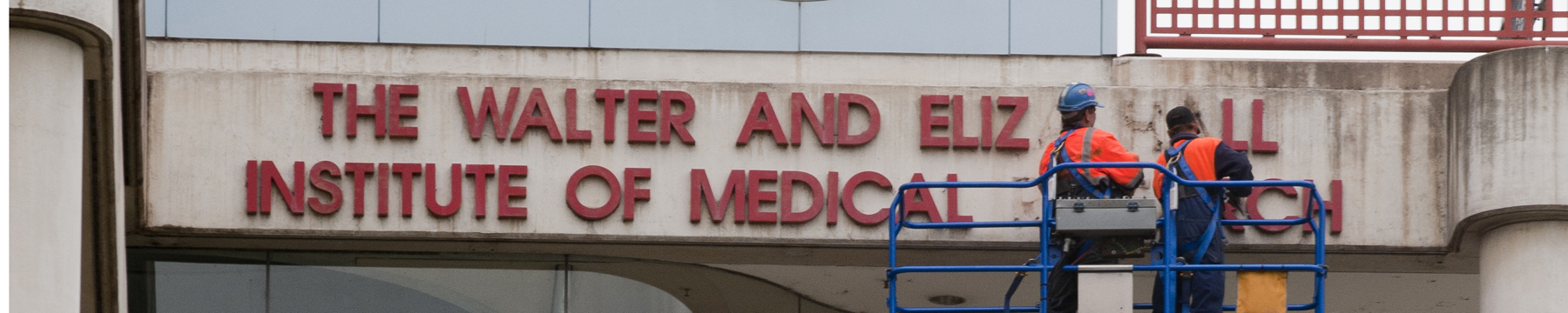 Removal of old building signage
