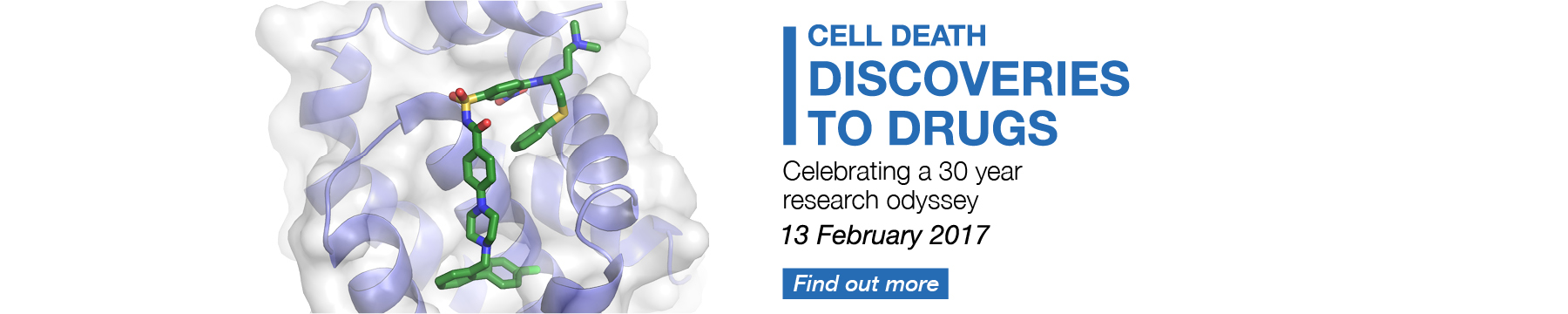 Cell Death symposium event promotion