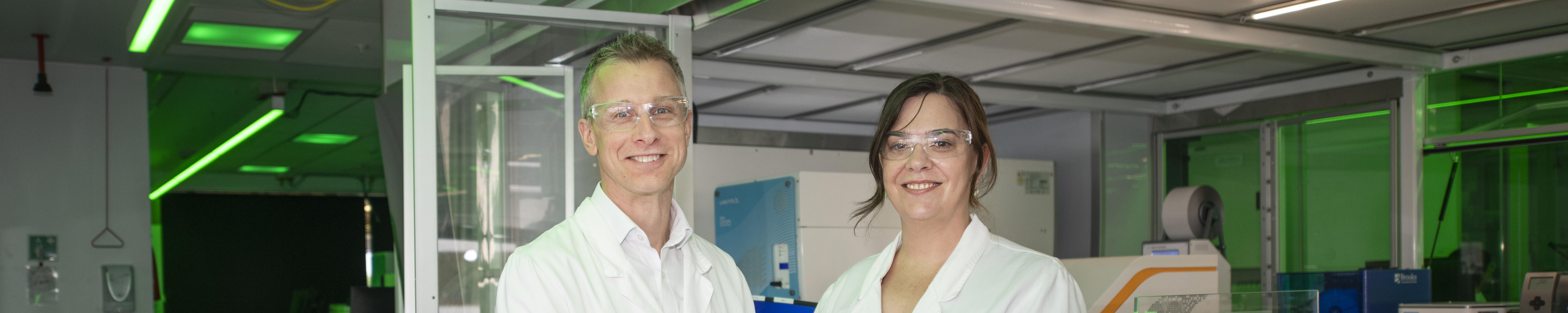 Researchers in the National Drug Discovery Centre