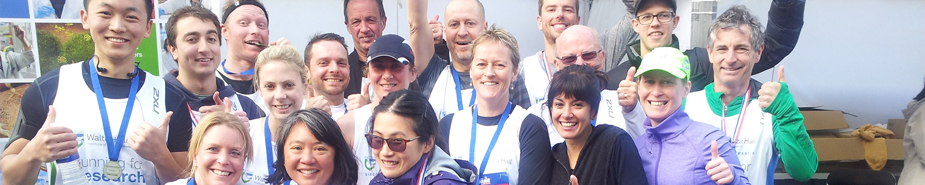 Run Melbourne team raising money for research