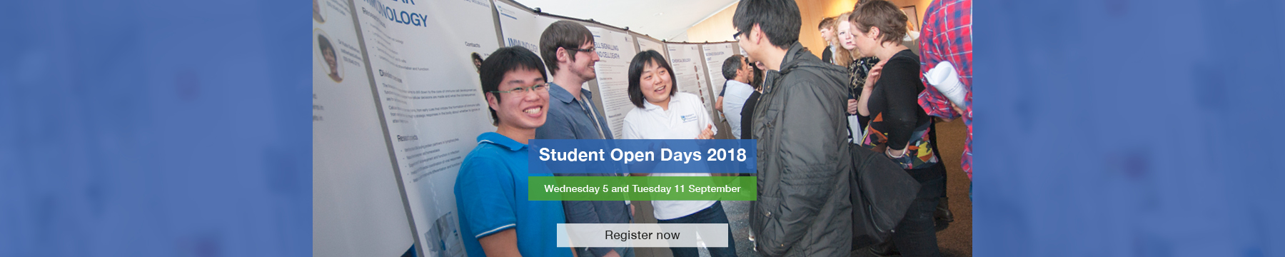 Student Open Days event information