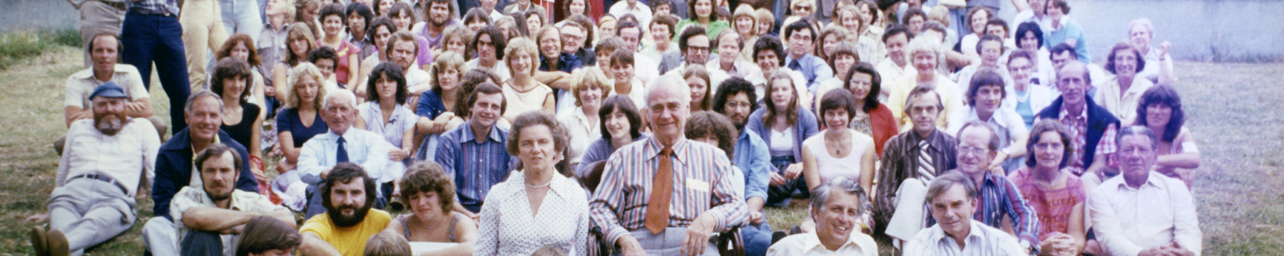 Staff photo from 1980s