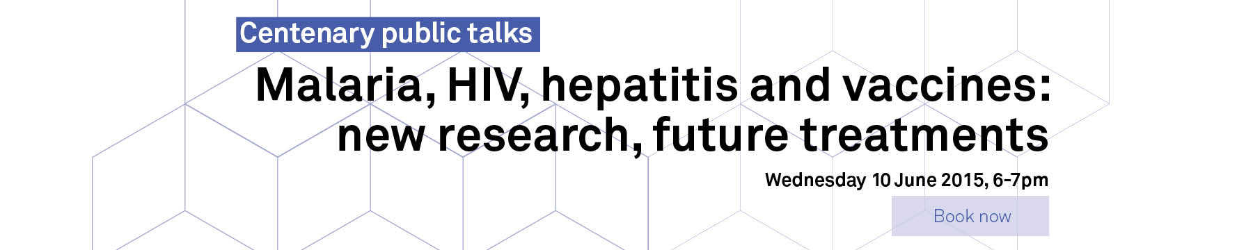 Malaria, HIV, hepatitis and vaccines: new research, future treatments