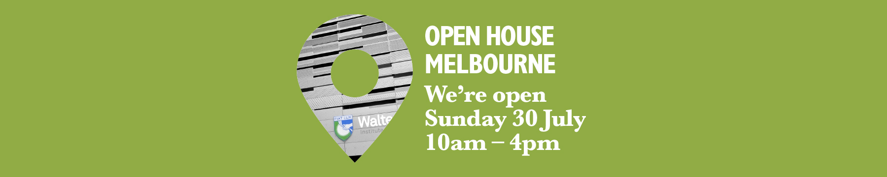 Open House Melbourne 2017 event information