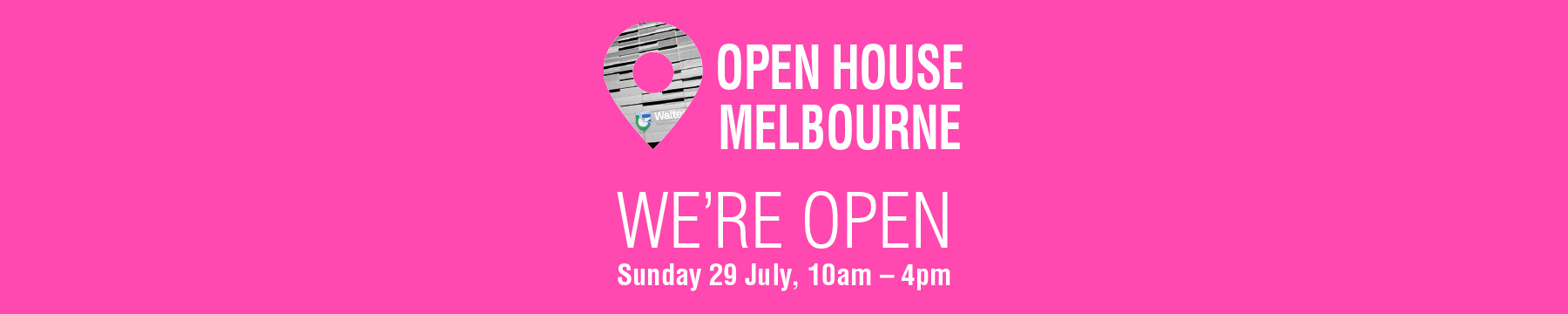 Open House Melbourne 29 July
