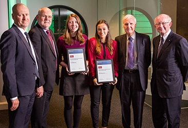 Recipients of the Strathmore Community Bank Honours Prize