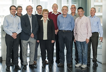 Scientists who worked on major venetoclax discovery