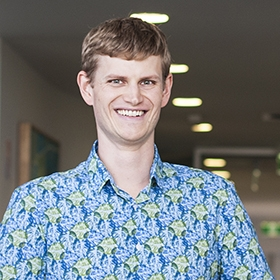 Associate Professor Ethan Goddard-Borger at the Institute