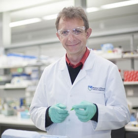 Dr Philippe Bouillet in the lab