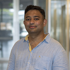 Dr Shabih Shakeel photographed at WEHI