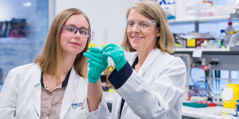 Professor Clare Scott and Dr Olga Kondrashova