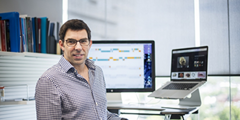 Professor Tony Papenfuss, computational biology theme leader