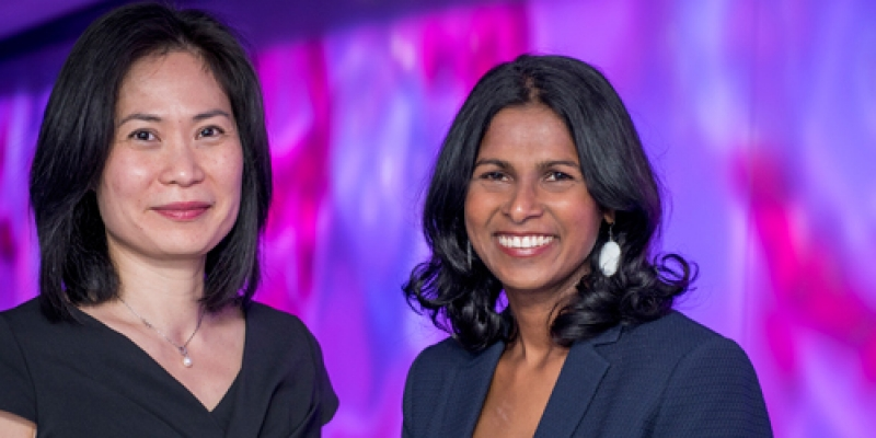 Associate Professor Jeanne Tie and Associate Professor Sumi Ananda