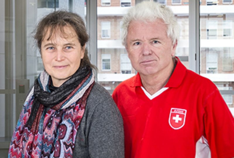 Associate Professor Anne Voss, Professor Andreas Strasser