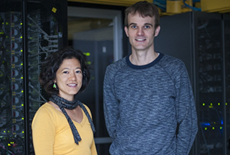 Dr Kim-Anh Le Cao and Associate Professor Matthew Ritchie