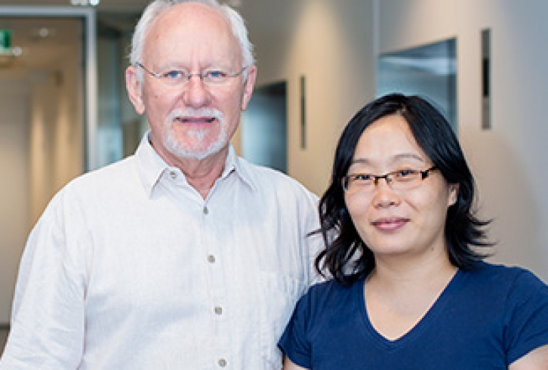 Professor Len Harrison and Dr Yuxia Zhang smiling for a profile picture