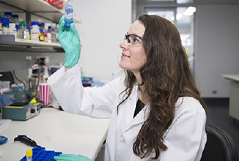 Associate Professor Marnie Blewitt in lab