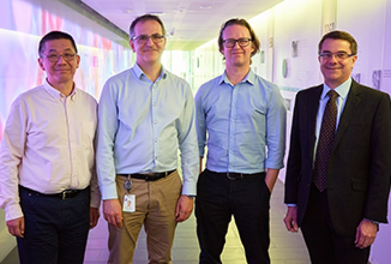 Professor David Huang, Professor Guillaume Lessene, Associate Professor Peter Czabotar and Professor Andrew Roberts