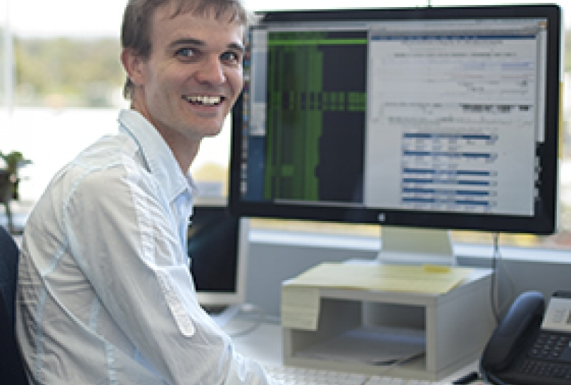 Systems biology researcher