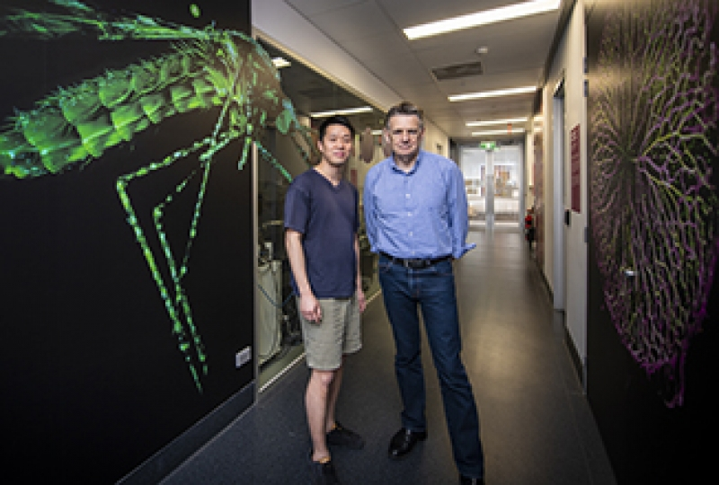 Dr Wilson Wong and Professor Alan Cowman