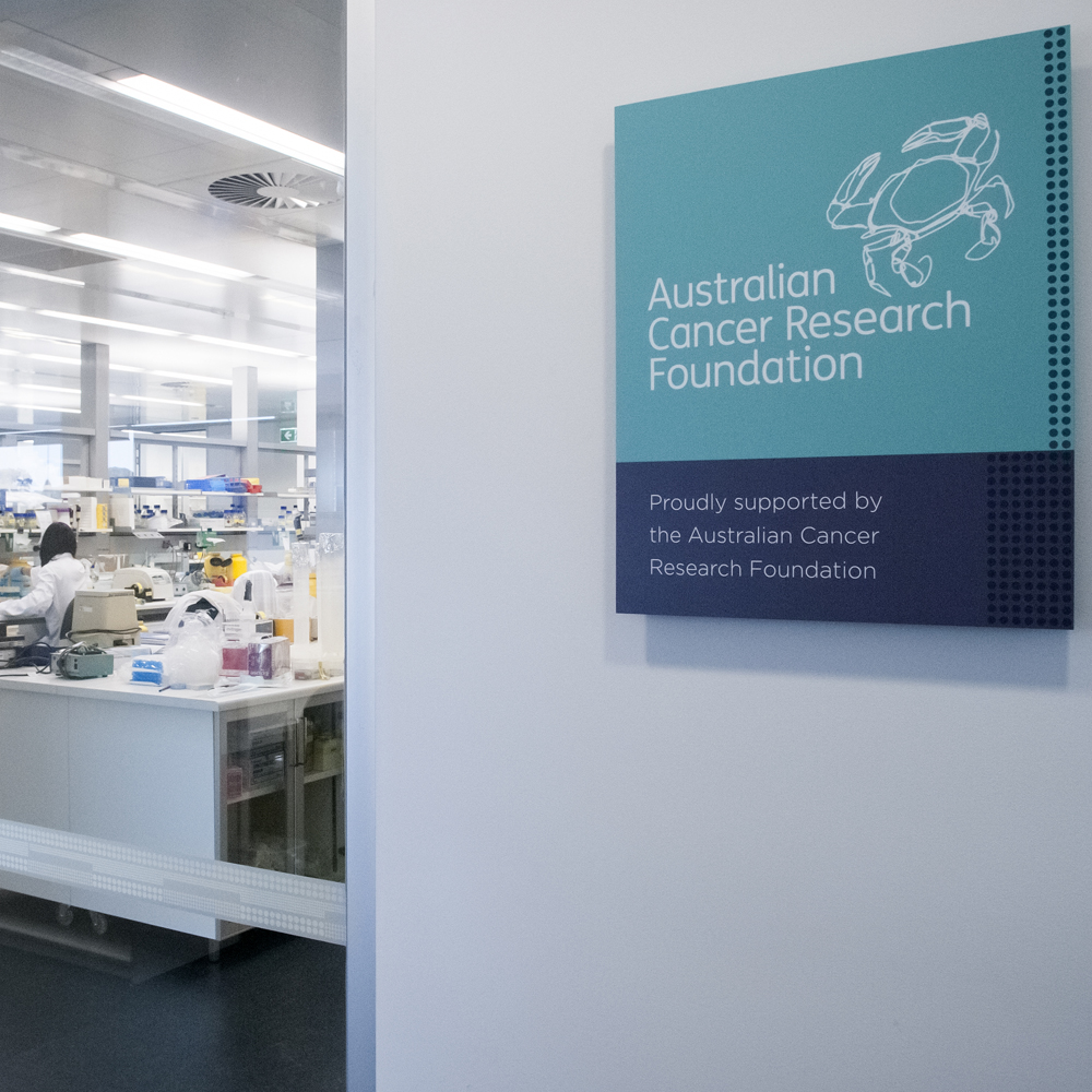 ACRF sign outside laboratory