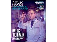 Nature Index journal cover