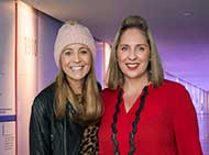 Carrie Bickmore and Misty Jenkins