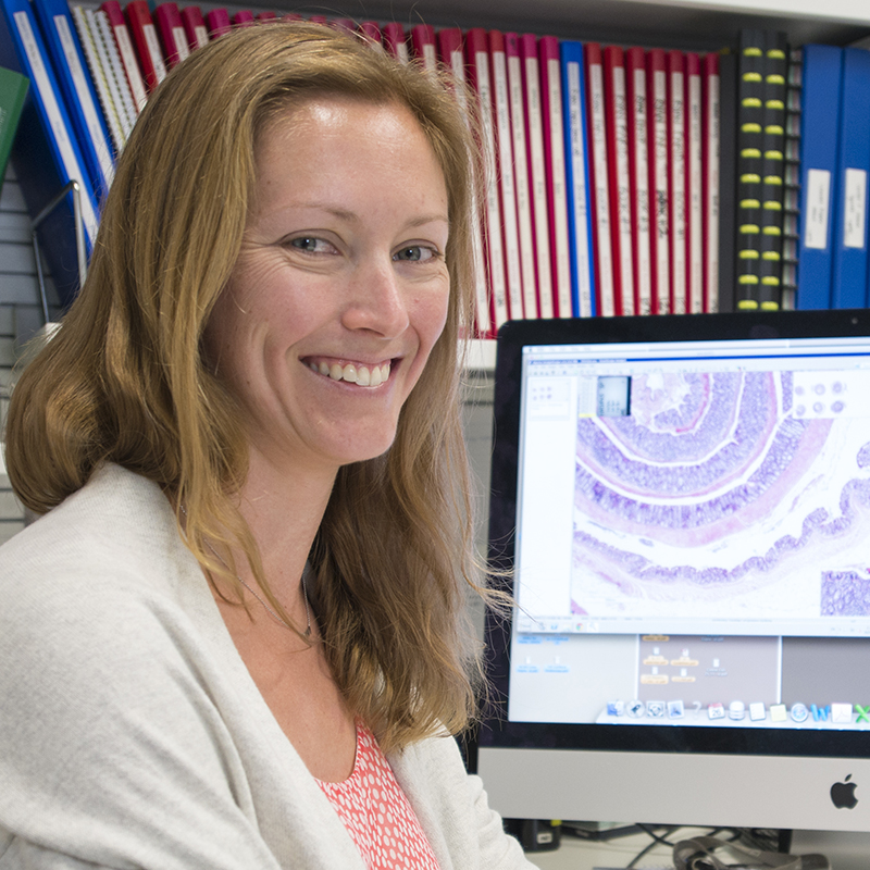Dr Tracy Putoczki in her office